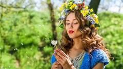 """Мастера студии """"Комильфо"""" подготовили образ для модели Мисс Мельпомена Таврии"""