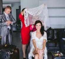 Прическа на свадьбу от Анны Кулик