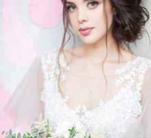 Свадебный макияж в исполнении Анны Бут