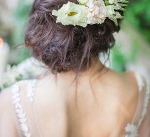 Свадебная прическа от Алены Ратушняк