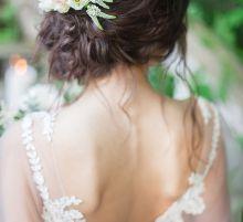Свадебная прическа в исполнении Алены Ратушняк