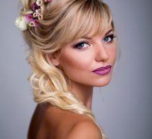 Прическа и макияж от Анны Кулик