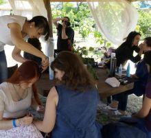 Выпускники студии Комильфо на фестивале Чайное состояние
