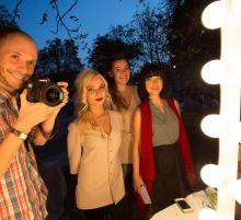 Команда студии Комильфо на фестивале
